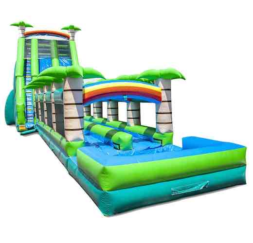 Tropical Paradise Crush 32 feet highDouble wter slide